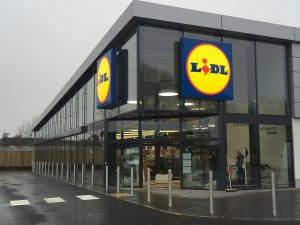 Fundraising event at Lidl Bingham….